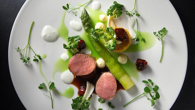 Lamb and Affilla Cress
