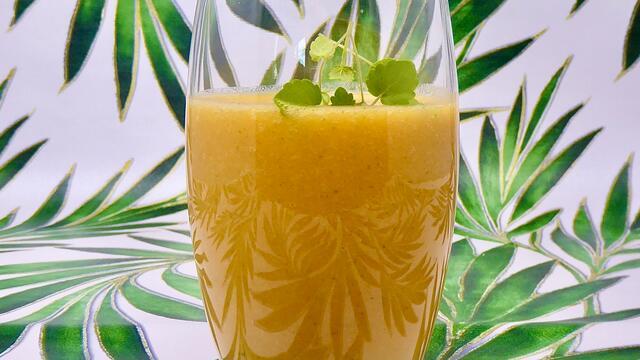 Wortel en clementine smoothie