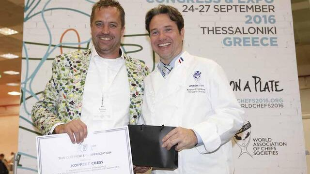 Worldchefs welcomes Koppert Cress as Global Partner