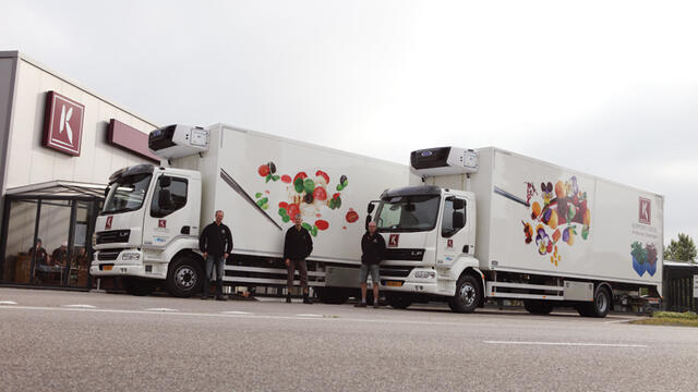 Koppert Cress presents two new trucks