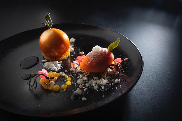 Mandarin and sassafras