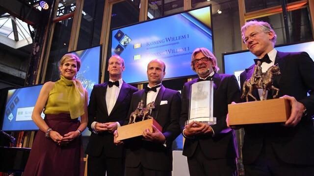 Koppert Cress recibe la Placa a la Gestión empresarial sostenible Rey Guillermo I 2016