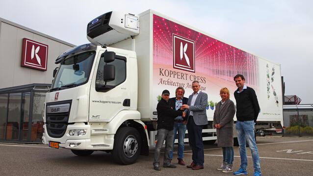 Koppert Cress expands fleet with new truck