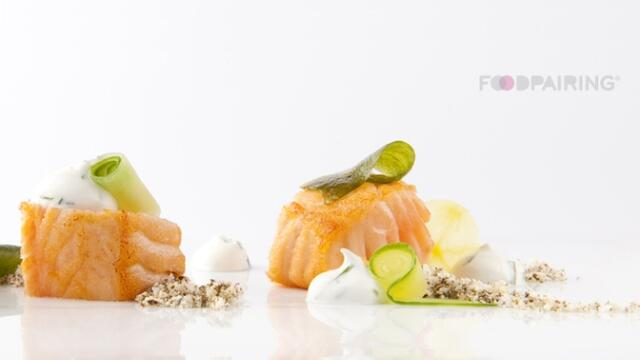 Chavroux - algae - salmon - cucumber - apple