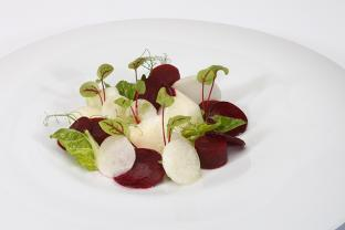 Beetroot and kohlrabi