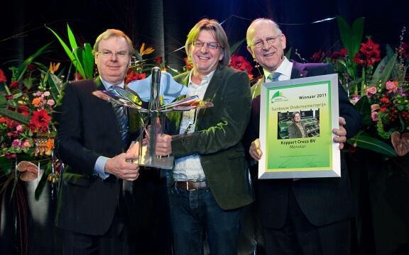 Koppert Cress winnaar Tuinbouwondernemersprijs 2011