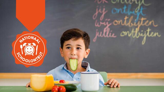 Koppert Cress in het Nationaal Schoolontbijt!