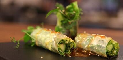 Zomerse Spring Rolls