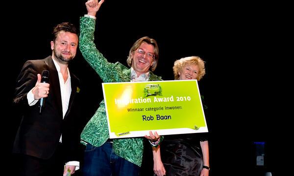 Rob Baan wint Inspiration Award