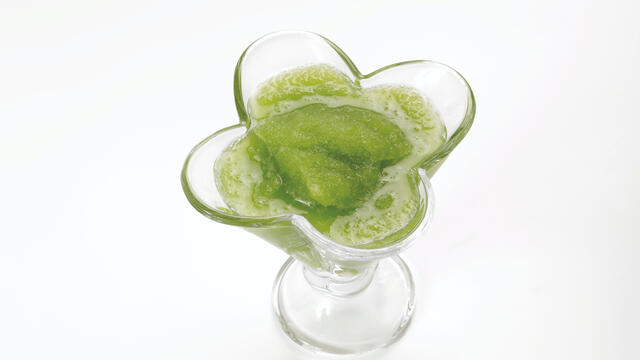 Granita met Wheat Grass