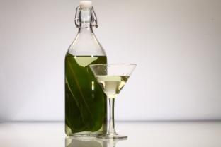 Cocktail/infuso al Cardamom Leaves