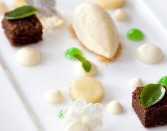 Dessert met Jasmijn