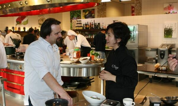 Korean workshops at Koppert Cress