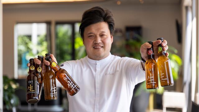 iKi Beer lanceert gastronomisch bier met Zallotti Blossom