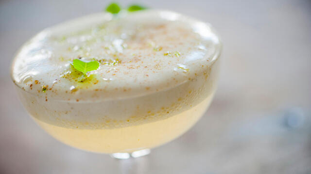 Shiso Green – a cress in a cocktail