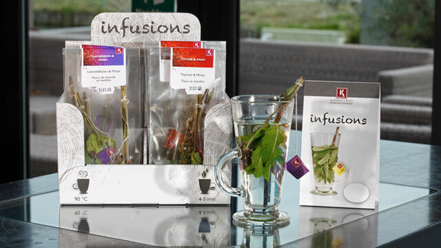 Koppert Cress Infusions temporary available in decorative display box