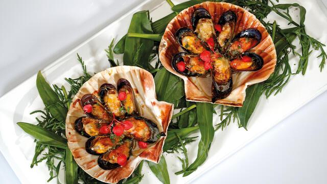 Gratinated Zilt-E mussels