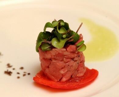 Micro ortaggi per piatti di gran caratura