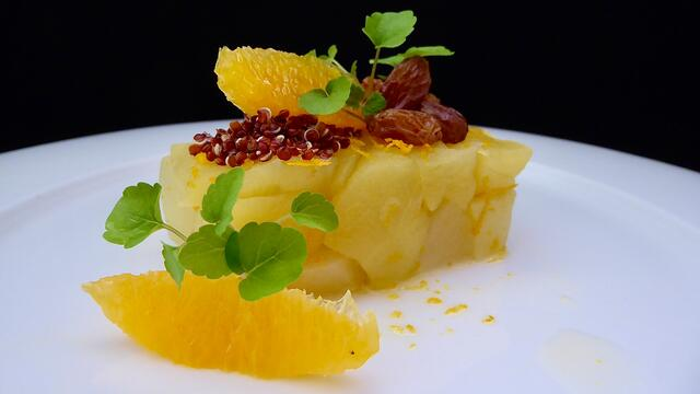 "Orange and apple ""compote"""