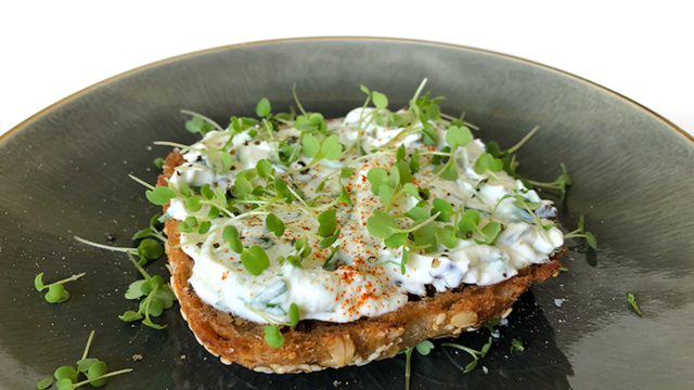 Herb Hydari with Rucola Cress