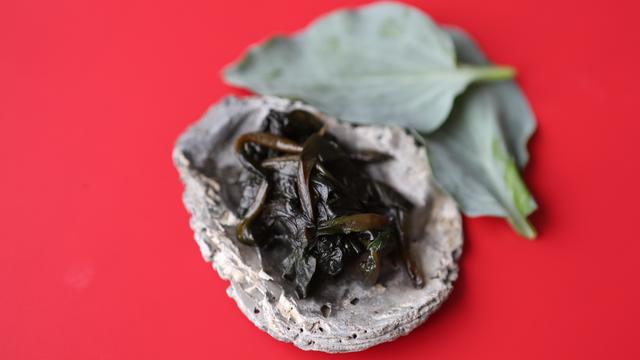 Oyster Leaves sauerkraut