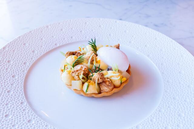 Citroen-meringue taart, Anise Blossom