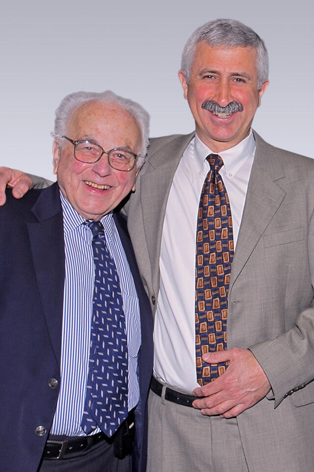 Paul Talalay (links) and Jed W. Fahey (rechts)